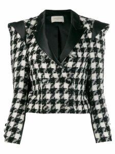 Giuseppe Di Morabito houndstooth print blazer - Black
