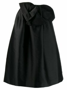 P.A.R.O.S.H. bow detail full skirt - Black