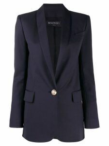 Balmain classic tailored blazer - Blue