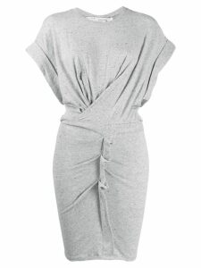 Iro fitted T-shirt dress - Grey