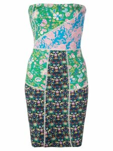 Cynthia Rowley Devon patchwork dress - Multicolour