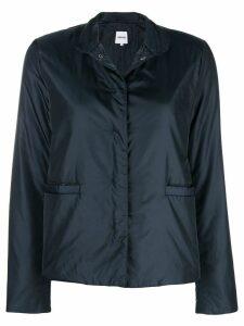Aspesi concealed front jacket - Blue