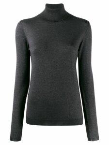 Brunello Cucinelli roll neck sweatshirt - Grey