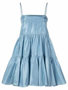 Cynthia Rowley Sky tiered mini dress - Blue
