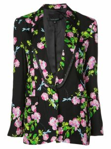 Cynthia Rowley bourbon rose Blazer - Black