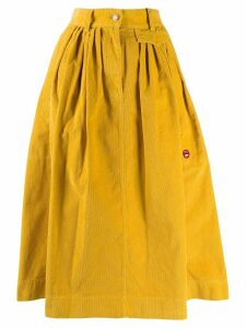 Marc Jacobs corduroy midi skirt - Yellow