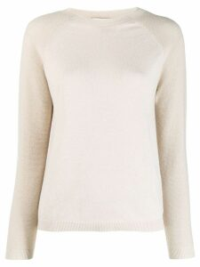 Peserico fine knit jumper - Neutrals