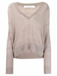 Iro v-neck jumper - Grey