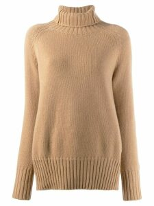 Manzoni 24 turtleneck sweatshirt - Neutrals