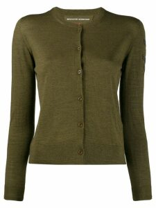 Ermanno Scervino glass-embellished cardigan - Green