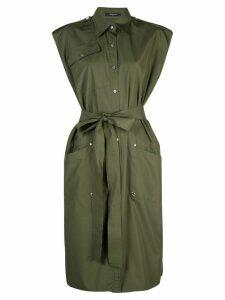 Derek Lam utility shirt dress - Green