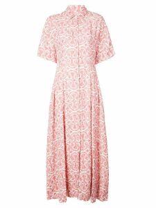 Jil Sander patterned shirt dress - Pink