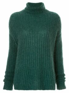 Marni turtleneck knit jumper - Green