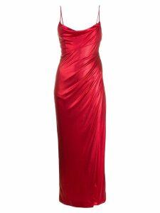 Galvan Mars dress - Red