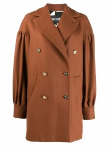 Just Cavalli double-breasted coat - Neutrals
