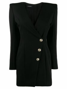 Balmain tailored blazer dress - Black