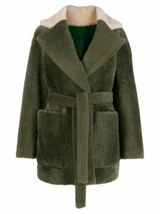 Blancha reversible oversized jacket - Green