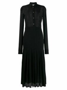 Jil Sander fine knit midi dress - Black