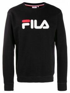 Fila logo print sweatshirt - Black