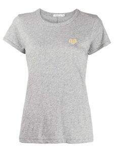 Rag & Bone heart motif T-shirt - Grey