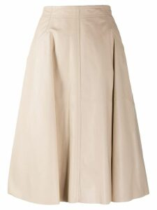 Drome full midi skirt - NEUTRALS