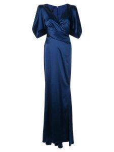 Talbot Runhof Socotra dress - Blue