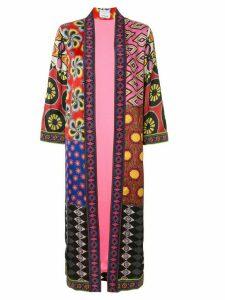 Alice+Olivia Lynn printed longline kimono - Multicolour