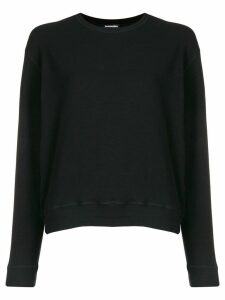 Dsquared2 logo embroidered sweater - Black