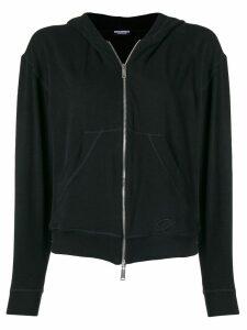 Dsquared2 zipped cardigan - Black