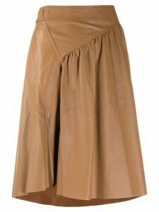 Drome full midi skirt - Brown