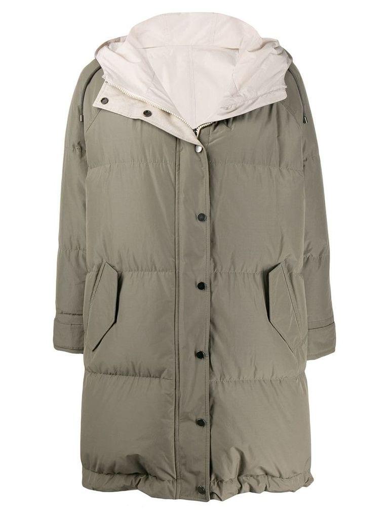 Brunello Cucinelli padded coat - Green