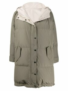 Brunello Cucinelli padded coat - Green