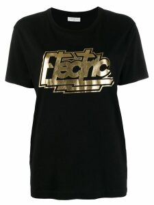 Sandro Paris printed 'electric' T-shirt - Black
