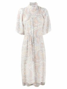 See By Chloé paisley print dress - Neutrals