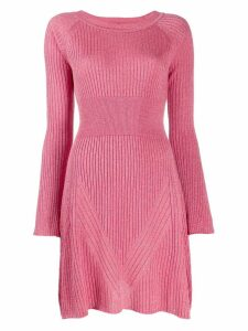Pinko ribbed knit dress