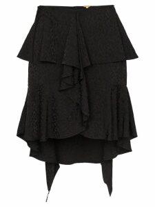 Johanna Ortiz Nonsense Moments ruffle mini-skirt - Black