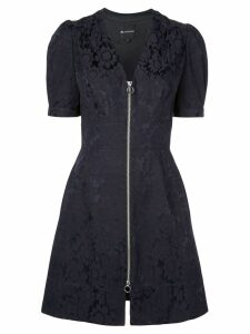 Jill Jill Stuart zipped lace dress - Black