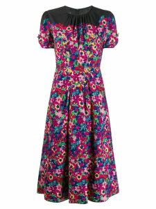 Marc Jacobs printed midi dress - PINK