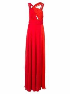 Jill Jill Stuart side slit dress - Red