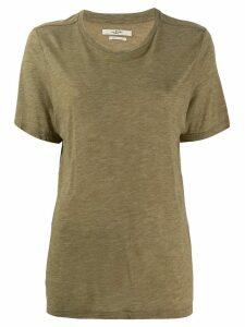 Isabel Marant Étoile fine knit T-shirt - Green