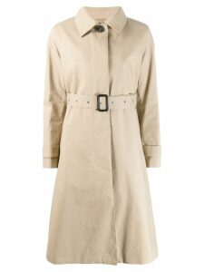 Mackintosh ROSLIN Fawn RAINTEC Cotton Single Breasted Trench Coat