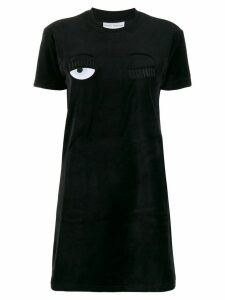 Chiara Ferragni Flirting T-Shirt dress - Black