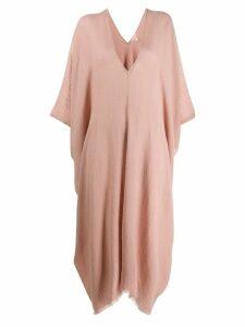 Eileen Fisher oversized tunic dress - Neutrals