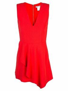 Alice+Olivia Callie sleeveless dress - Red