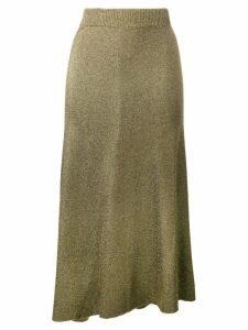 Sonia Rykiel glitter knit jumper - Gold