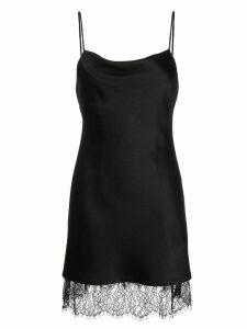Alice+Olivia Harmony slip dress - Black