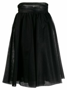 Pinko A-Line flared skirt - Black