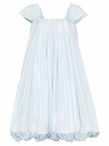 Simone Rocha bubble hem mini dress - Blue