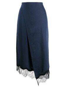 Vince wrap skirt - Blue