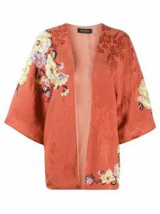 Etro embellished floral kimono - Orange
